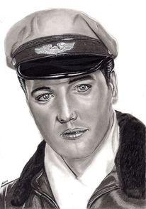 Portrait, Bleistiftzeichnung, Zeichenstift, Zeichnungen