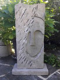Grau, Skulptur, Zement, Sand