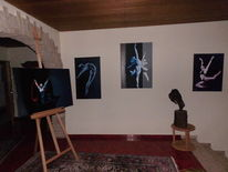 Naturalistisch, Metapher, Erotik, Malerei