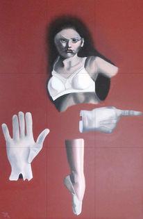 Genderdiskussion, Malerei