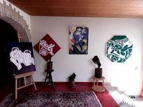 Naturalistisch, Symbolisch, Stilisieren, Malerei