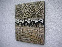 Schwarz, Gold, Kn 17, Kunsthandwerk