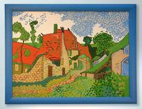 Dorfstr, Malerei