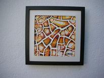 Schwarz weiß, Gelb, Kunsthandwerk