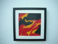 Gelb, Rot schwarz, Kunsthandwerk