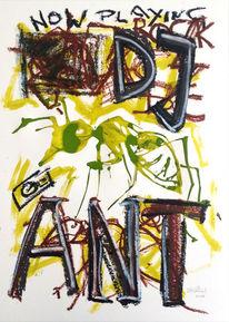 Ameise, Typo, Farben, Zeichnungen