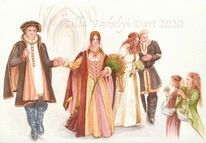 Hochzeit, Romantik, Fantasie, Buch