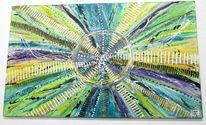 Acrylmalerei, Struktur, Kunstdruck, Ölmalerei