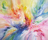 Groß, Malerei, Abstrakt, Gemälde