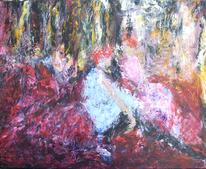 Acrylmalerei, Abstrakt, Appropriation, Malerei