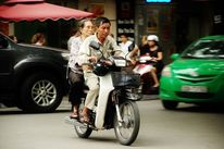 Alter, Vietnam, Moped, Fotografie
