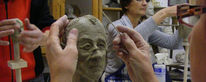 Skulptur, Portrait, Büste, Gesicht