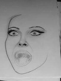Bleistiftzeichnung, Portrait, Malerei, Karikatur