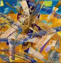 Veränderung, Abstrakt, Farben, Struktur