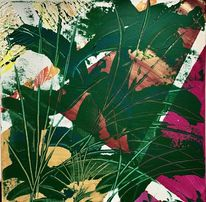 Botanik, Gras, Wald, Malerei