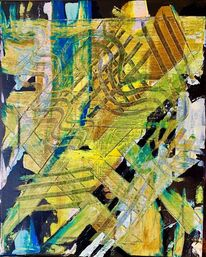 Straße, Struktur, Großstadt, Malerei
