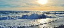 Sonnenuntergang, Meer, Welle, Fotografie