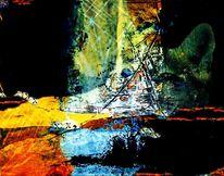 Bunt, Digitale kunst, Bildbearbeitung, Überlagerung
