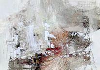 Abstrakt, Weiß, Überlagern, Digital