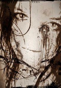 Verzweiflung, Sehnsucht, Depression, Mädchen