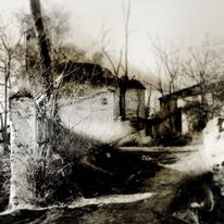 Dorfleben, Ruine, Vergangenheit, Verlassen