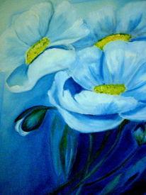 Blumen, Malerei, Tiere,