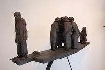 Skulptur, Tonplastik, Grenadierstr, Ton