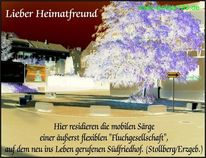 Tod, Abschied, Monument, Gift