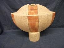 Keramikarbeit, Ritztechnik, Gefäß, Unikate