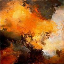 Textur, Orange, Moderne kunst, Braun