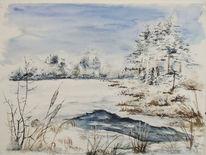 Schnee, Eis, Weiß, Winter