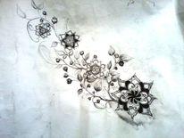 Zeichnung, Traum, Kohlezeichnung, Zeichnungen