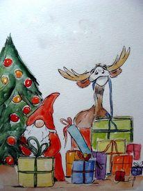 Weihnachten, Zeichnungen