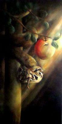 Tiermalerei, Schlange, Malerei, Wurm