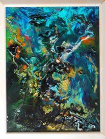 Acrylmalerei, Farben, Abstrakt, Malerei