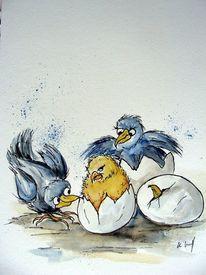 Frohe ostern, Malerei, Ostern