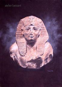 Ägypten, Amenophis ii, Pharao, Zeichnungen