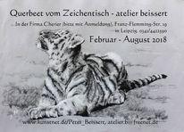 Cherier, Zoo, Ausstellung, Akt