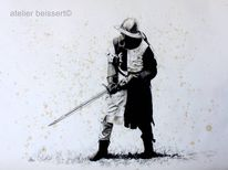Naumburg, Ritter, Zeichnung, Schwert