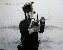 Militär, Frankreich, Schwarzpulver, Soldat