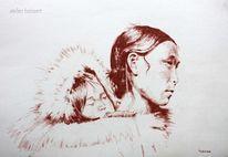 Amerika, Eis, Inuit, Historie