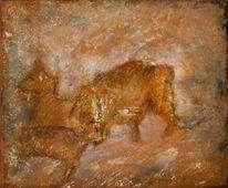Höhle, Tiere, Mammut, Felsen