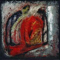 Ölmalerei, Figur, Acrylmalerei, Malerei