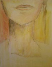 Gesicht, Kinn, Hals, Malerei