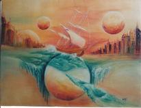 Malerei, Fliegende