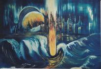 Malerei, Tsunami