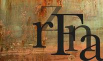 Digitale kunst, Digital, Typ franz, Typografie