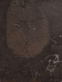 Informel, Abstrakt, Acrylmalerei, Holz
