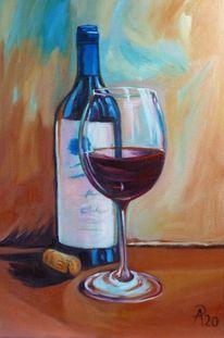 Korken, Wein, Rotwein, Flasche