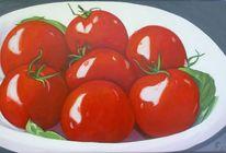 Schale, Tomate, Früchte, Rot